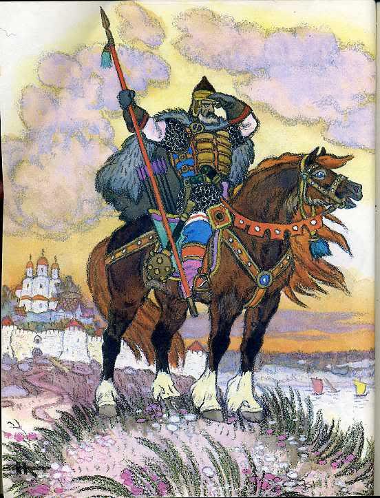 Картинки русских народных богатырей