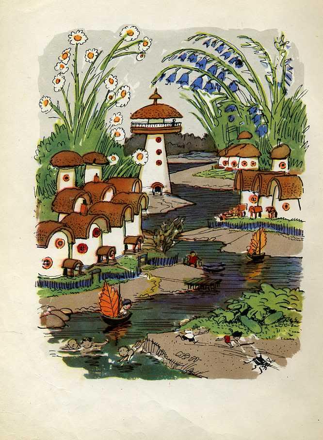поиск картинки приключение незнайки в цветочном городе вокруг