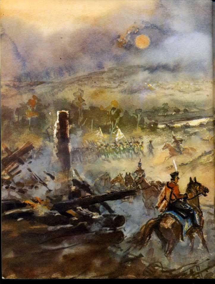 иллюстрации к бородинскому сражению лермонтова француженка, выдвинутая